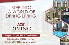 If you are looking forward to owning a flat or apartment in Noida extension, Ace Divino by Ace Group is the finest residential project in the prime location of Noida Extension. Flat, Group, Projects, Log Projects, Bass, Ballet Flats