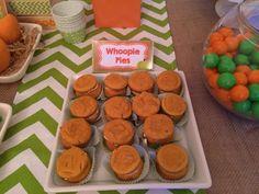 Pumpkin Whoopie Pies Would Be A Good Idea.