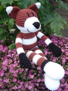 Crochet Fox Gehäkelter Fuchs
