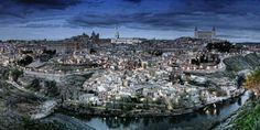 "Print Fine Art Paper Museum Quality Unframed 7873 x 3937 in / Print ""Toledo desde El Valle"" by FotoGrafía Rafael Villar"