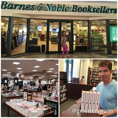 Signing the stock of God's Bankers in South Miami — with Trisha Posner at Barnes & Noble Booksellers.