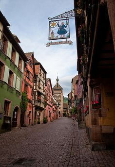 Riquewhir, Alsace, France