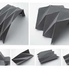 31 Ideas For Origami Architecture Plan Architecture Pliage, Architecture Origami, Art Et Architecture, Tropical Architecture, Minimalist Architecture, Folding Structure, Paper Structure, Roof Structure, Origami Lamp