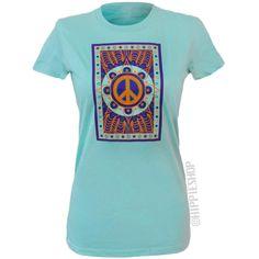 Peace Mandala Women's T Shirt on Sale for $9.99 at HippieShop.com