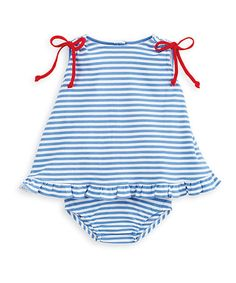 This Royal Blue & Red Sally Swing Top & Diaper Cover - Infant by bella bliss is perfect! #zulilyfinds
