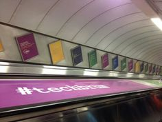 #techbrum - Ad campaign at Old Street tube station, London