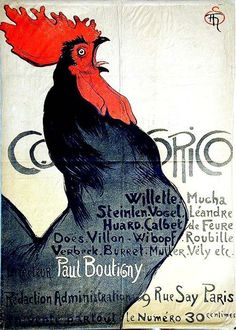 Cocorico-Théophile-Alexandre-Steinlen-1899.jpg (607×850)
