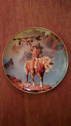 """""""Spirit of the South Wind"""" Hermon Adams Limited Edition collector plate in Collectibles, Decorative Collectibles, Collector Plates   eBay"""