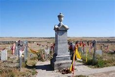 My husband read the novel, 'Bury my Heart at Wounded Knee' we had to see this place..   The Wounded Knee Massacre happened on December 29, 1890,[1] near Wounded Knee Creek (Lakota: Čhaŋkpé Ópi Wakpála) on the Lakota Pine Ridge Indian Reservation in South Dakota, USA.