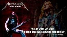 Cliff Burton! Love to you! R.I.P.