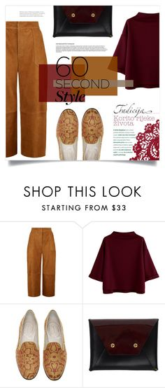 """""""Untitled #1368"""" by virgamaleva ❤ liked on Polyvore featuring Whistles, Stubbs & Wootton and BET Barcelona"""