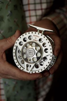 A beautifully crafted Hardy Reel