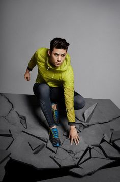 2PM's Taecyeon is man of many styles for 'SALEWA'   allkpop.com
