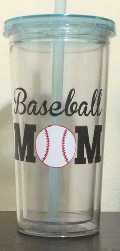 Baseball cup with vinyl from cameo silhouette