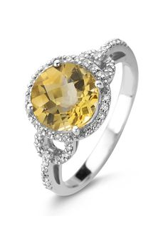 Colors witgouden ring