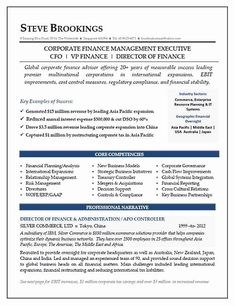 Vice President Resume Examples Awesome Cfo Resume Sample Vice President Of Finance Director Of Best Resume, Resume Tips, Sample Resume, Resume Summary Examples, Resume Examples, Cv Template, Resume Templates, Cv Finance, Build A Resume