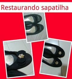 customização sapatilha