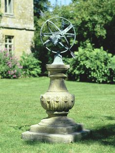 The William IV Pedestal with Zenith Armillary Sphere - Architectural Heritage