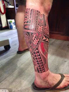 At last, my polynesian tattoo #samoan #tattoo