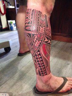 At last, my polynesian tattoo #samoan #tattoo