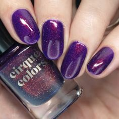 Nail Polish Society: Cirque Colors Holiday 2017 Collection