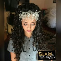 Quince Hairstyles 180 best quinceanera hairstyles images on pinterest hairstyles quinceanera hairstyles and make up Glambychristopher Quince Hairstylesquinceanera