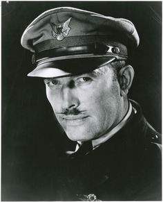 The classiest aviation 'stache could be Roscoe Turner's, the great Golden Age pilot & three time Thompson Trophy winner. See more aeronautical moustaches in recognition of Movember on our blog.