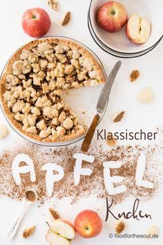 Der Star meines Beitrags ist heute mein Klassischer Apfelkuchen mit Streusel. Und Zimt natürlich. #apfelkuchen #apfel #kuchen #klassisch #streusel #zimt #herbst #herbstrezepte #rezept #apple #pie #cake #recipe Yummy Recipes, Apple Cake, Easy Peasy, Soul Food, Baked Goods, Cinnamon, Favorite Recipes, Sweets, Lunch