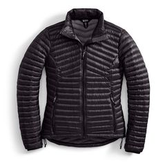 EMS® Women's Feather Pack 800 Downtek JacketEMS® Women's Feather Pack 800 Downtek Jacket - JET BLACK