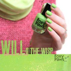 Foxy Paws Polish: Will-o'-the-wisp.