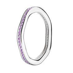 Chamilia Swarovski Zirconia Tranquillity Stacking Ring M - Product number 3029972