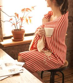 Fouta (Kenza) This baby can be anything! Works as a table runner, picnic blanket, shawl, towel or sarong.