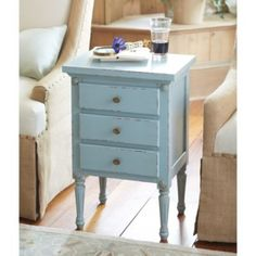 Louis XVI Side Table - Bedside table options, they are a perfect width for the space and they come in a variety of colors (samples of the colors can be ordered)