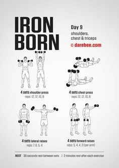 Iron Born Workout | Posted by: AdvancedWeightLossTips.com