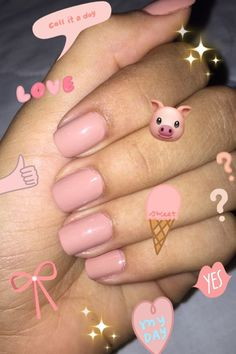 Snap nails 💎 Miss Bushra Kakar💎 Cute Nails, Pretty Nails, My Nails, Emoji Nails, Emoji Wallpaper, Aesthetic Iphone Wallpaper, Nail Art Designs, Emoji Pictures, Artsy Photos