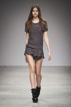 Purdie and Madlyn dresses, Pierce boots by Isabel Marant f/w 2013-2014