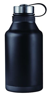 Asobu Stainless Steel King Beer Double Walled Vacuum Insulated Wide Mouth Beer Growler 64 Ounces black >>> This is an Amazon Affiliate link. You can find more details by visiting the image link.