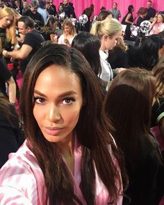 Pin for Later: Joan Smalls Had the Best Night Ever at the Victoria's Secret Fashion Show