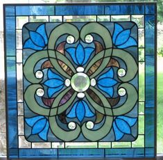 Image detail for -Glass Window Victorian - by Phil Petersen from Glass Art Cold Art ...