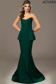 Green Trumpet Dress 21662