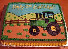 John Deere Birthday cake :)
