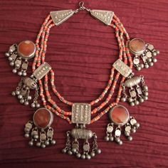 tribal necklace. Yemen.