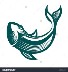 stock-vector-engraving-stylized-fish-ready-for-use-as-a-design-element-280773158.jpg (1500×1580)