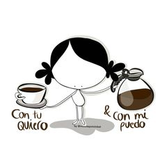 con… Coffee Meme, Coffee Quotes, I Love Coffee, Emoticon, Friendship Quotes, Minnie Mouse, Thats Not My, Doodles, Snoopy