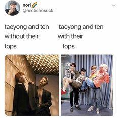 NCT memes for good life✌ Funny Kpop Memes, Exo Memes, Nct Taeyong, Chanbaek, K Pop, Party Banner, Fanfic Kpop, Xiuchen, Nct Life
