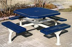 Octagon Picnic Tables   Span Style   Belson Outdoors