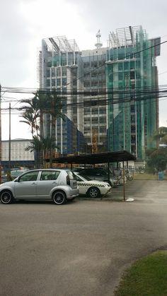Ibu Pejabat Polis Kontinjen Johor (new) under construction, Okt 2016