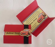 convite tema carros                                                                                                                                                                                 Mais Auto Party, Race Car Party, Car Themed Parties, Cars Birthday Parties, Baby Boy Birthday, 4th Birthday, Cars Birthday Invitations, Disney Cars Party, Car Themes