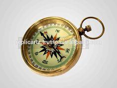 Brass pendant compass