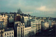 Filtergrafia - Über den Dächern von Paris